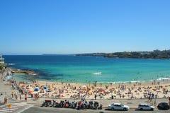 海滩bondi悉尼 免版税库存照片