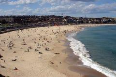 海滩bondi 库存照片