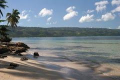 海滩bonita多米尼加共和国 免版税库存图片