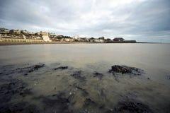 海滩broadstairs英国肯特thanet 库存照片