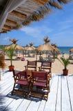 海滩bulgary nessebar 免版税图库摄影