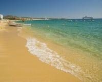 海滩cabo卢卡斯墨西哥圣 免版税库存图片