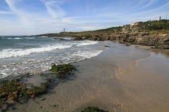 海滩carreco 免版税库存图片