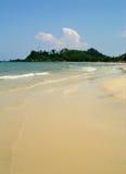 海滩chang酸值 免版税库存图片