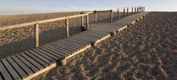 海滩chesil 免版税库存照片
