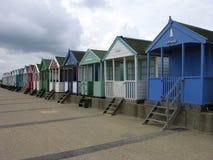 海滩cotswold小屋 库存图片