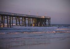 海滩daytona码头 库存照片
