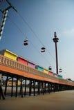 海滩daytona码头 图库摄影