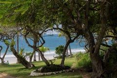 海滩Destiladeras 库存图片