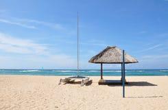海滩dua努沙 免版税库存图片