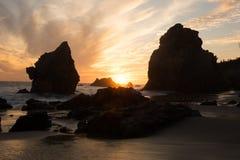 海滩el斗牛士 图库摄影