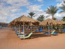 海滩el sharm回教族长 免版税库存照片