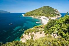 海滩elba enfola海岛 免版税图库摄影