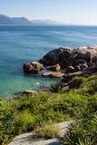 海滩florianopolis ZK 库存图片