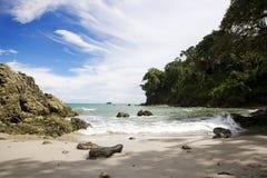 海滩fron 图库摄影
