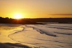 海滩garretstown 库存图片