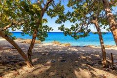 海滩gorda la玛丽亚 库存照片