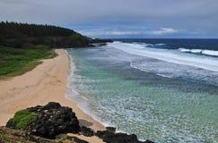 海滩gris 免版税图库摄影