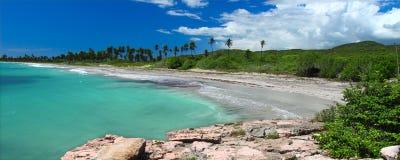 海滩guanica波多里哥 免版税图库摄影