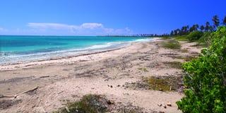 海滩guanica波多里哥 免版税库存图片