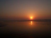 海滩ii sopelana 免版税图库摄影