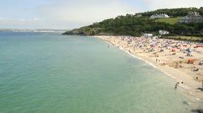 海滩ives st 免版税库存图片
