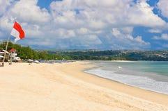 海滩jimbaran 库存图片