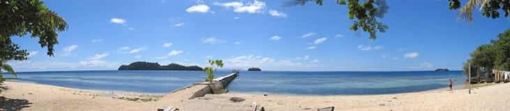 海滩kadidiri pulau 免版税库存照片