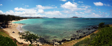 海滩kailua 库存图片