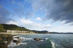 海滩karon 免版税库存照片