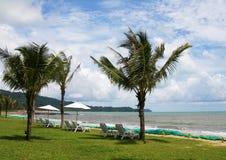 海滩Khao Lak 免版税库存图片