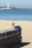 海滩kilda墨尔本st 库存图片