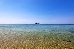 海滩ko lanta泰国 免版税库存图片