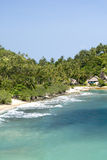 海滩ko ngan pha泰国 免版税图库摄影