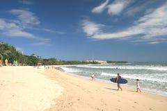 海滩kuta 免版税库存图片