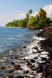 海滩lahaina 库存图片