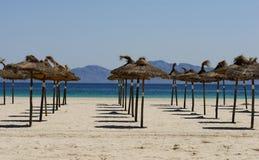 海滩majorca mallorca 库存图片