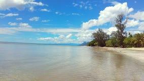 海滩malaumkarta 免版税图库摄影