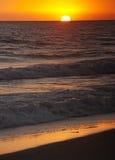 海滩malibu 免版税图库摄影