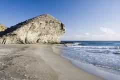海滩monsul 免版税图库摄影