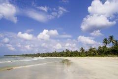 海滩ngwe ssaung 库存照片