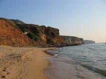 海滩nicolo圣 图库摄影