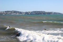 海滩paignton 库存照片