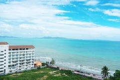 海滩pattaya 图库摄影