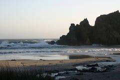 海滩pfeiffer 库存图片