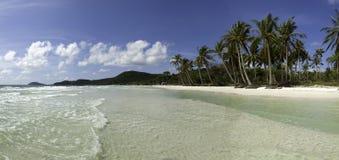 海滩phu quoc圣地越南 免版税图库摄影