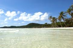 海滩phu quoc圣地越南 图库摄影