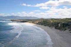海滩plaat 库存图片