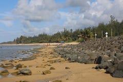 海滩Poza, Playa poza 库存照片