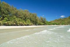 海滩rayong 库存图片